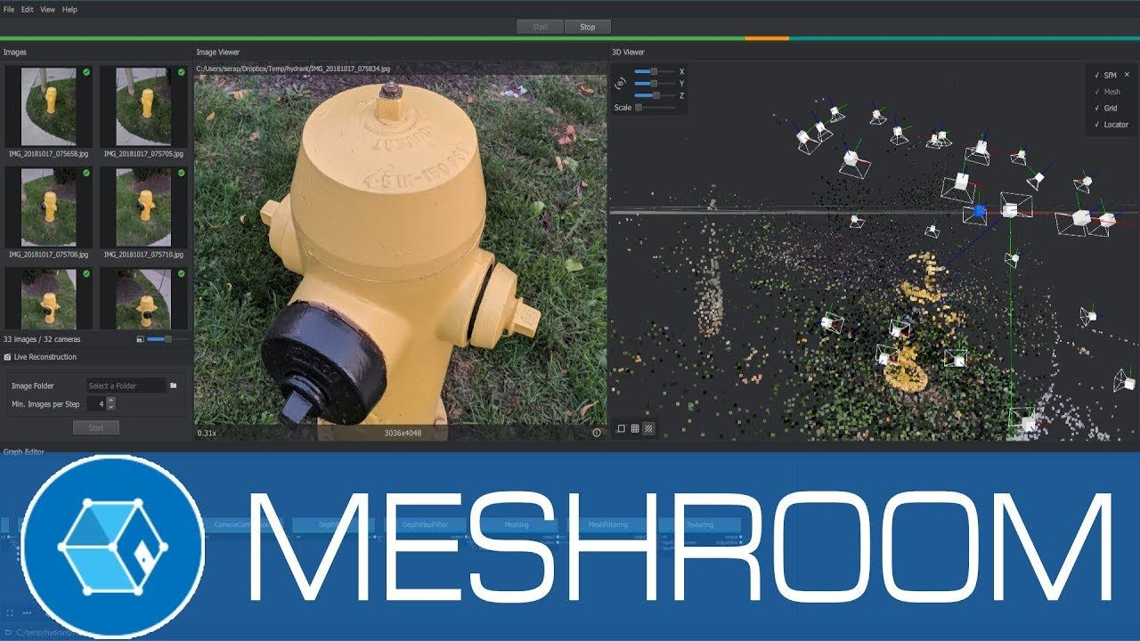 Meshroom 3D Models from Photos using this Free Open