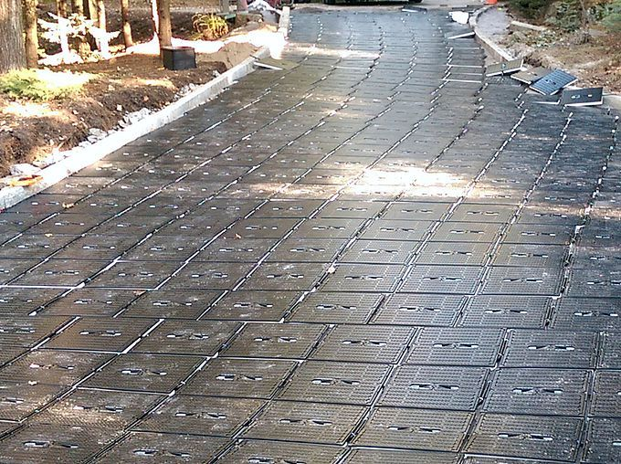 Snow Melting System Solar Pool Heating Radiant Heating