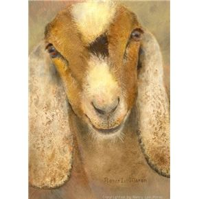 Home Nancy Lee Moran Fine Art Goat Art Goat Paintings Animal Paintings