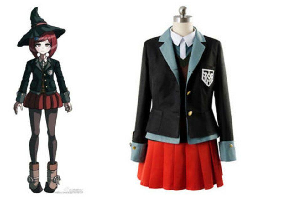 Danganronpa V3 Killing Harmony Yumeno Himiko Magician Uniform Cosplay Costume