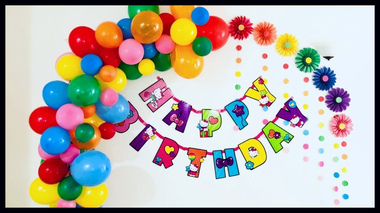 Easy Party Decoration Ideas Birthday Party Decorations Diy Easy Party Decorations Party Decorations