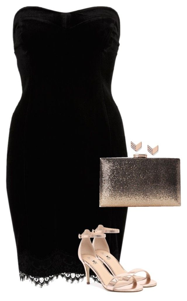 """""""i don't even know"""" by cazziez ❤ liked on Polyvore featuring River Island, Verali and FOSSIL"""
