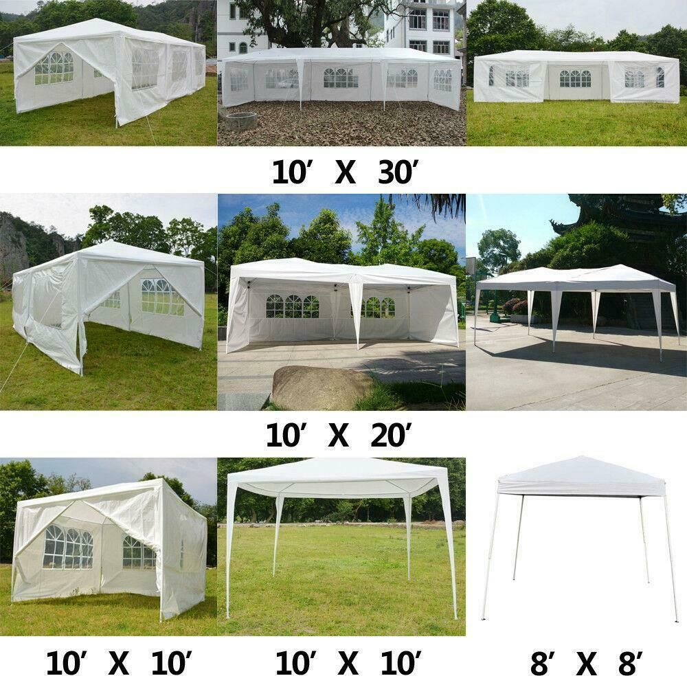 10x10 10x20 10x30 Heavy Duty Party Tent Canopy Bbq Wedding Outdoor Gazebo 85 95 Gazebo Ideas Of Gazebo Gazebo In 2020 Canopy Tent Party Tent Outdoor Gazebos