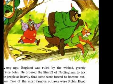 This is Walt Disney's 'The Story Of Robin Hood' childrens story. The images have been scanned at high quality, and the record digitized and cleaned as much a...
