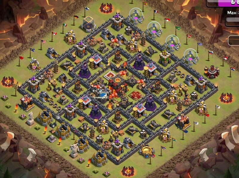 best th10 war base - Google Search | Clash of Clans Base