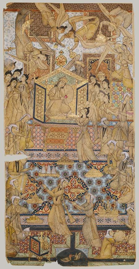 The Queen Of Sheba Enthroned The Met Art Islamic Art Ancient Art
