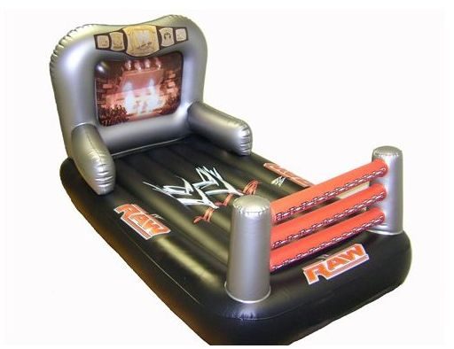 Inflatable Bed In 2019 Wwe Birthday Wwe Party Wwe Bedroom