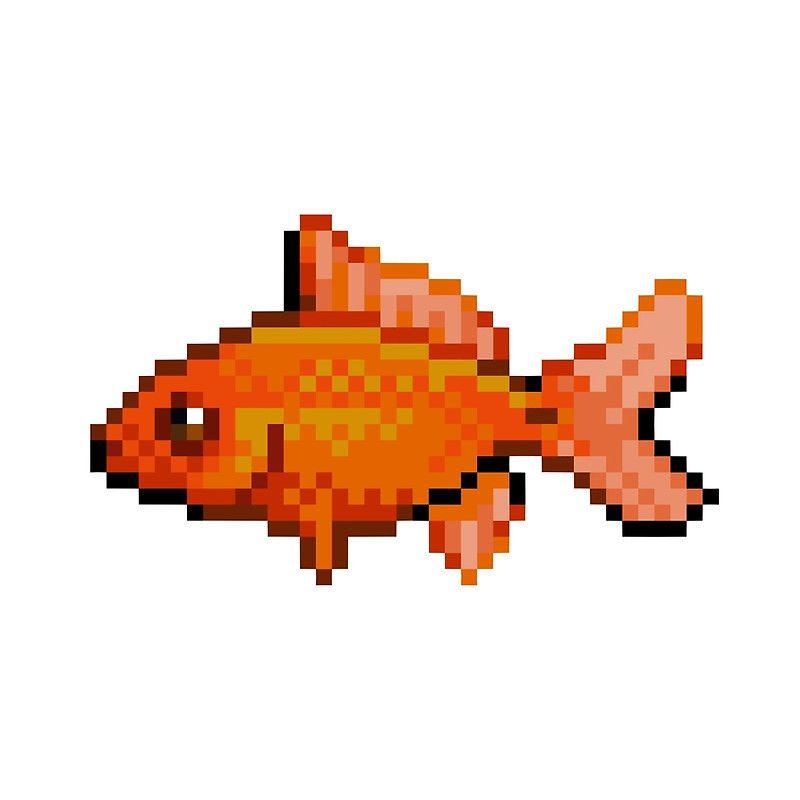 Resultado De Imagen De Fish Pixel