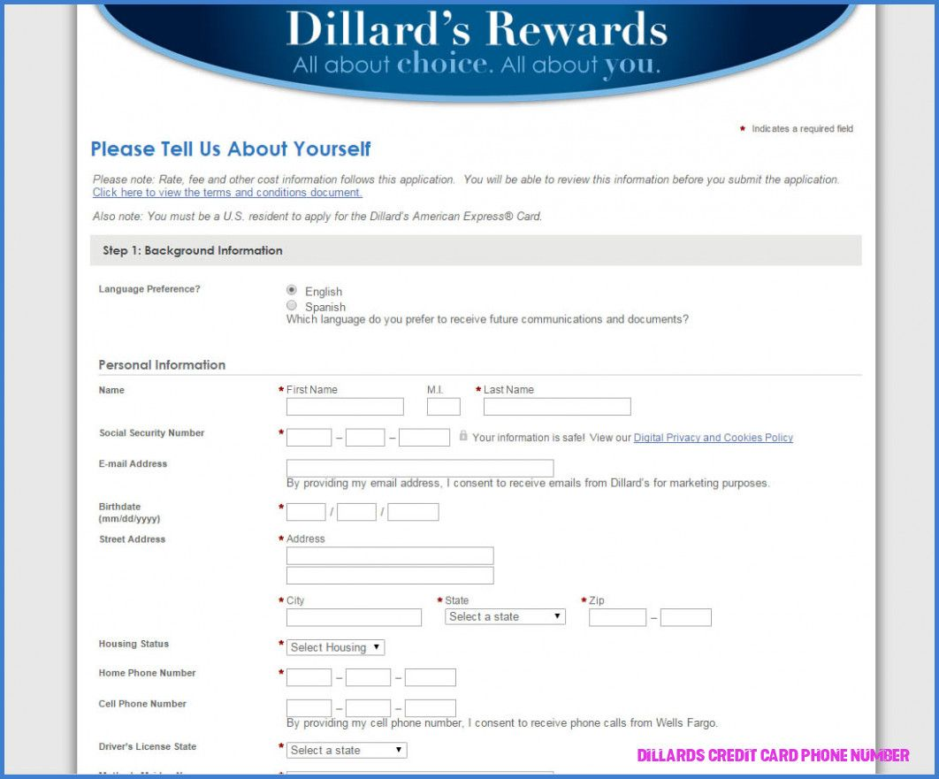 Is Dillards Credit Card Phone Number The Most Trending Thing Now