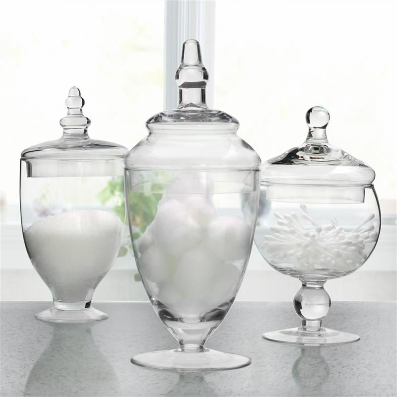 Apothecary Jar Set Would Be A Perfect Way To Bring In