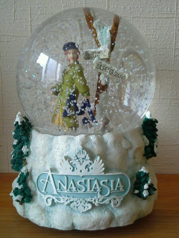 "Snowglobe ""anastasia"" Music Box Wishlist Snow"