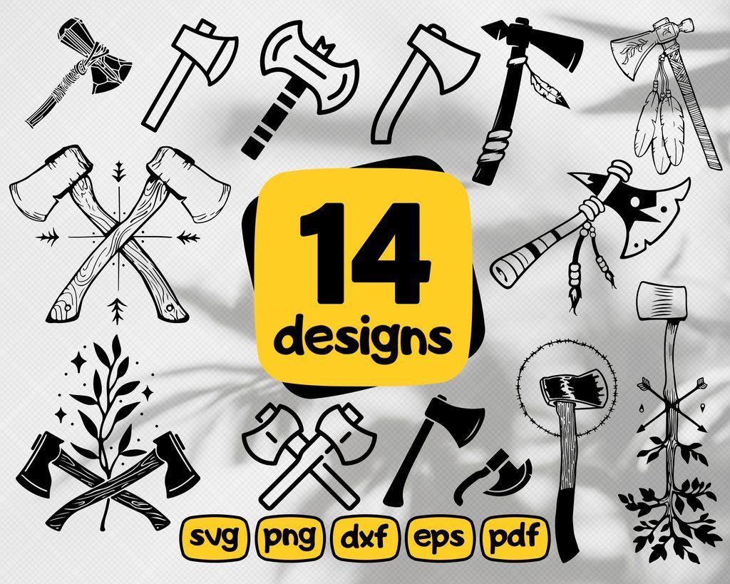 Axe Svg Axe Logo Cross Axe Svg Silhouette Clipart