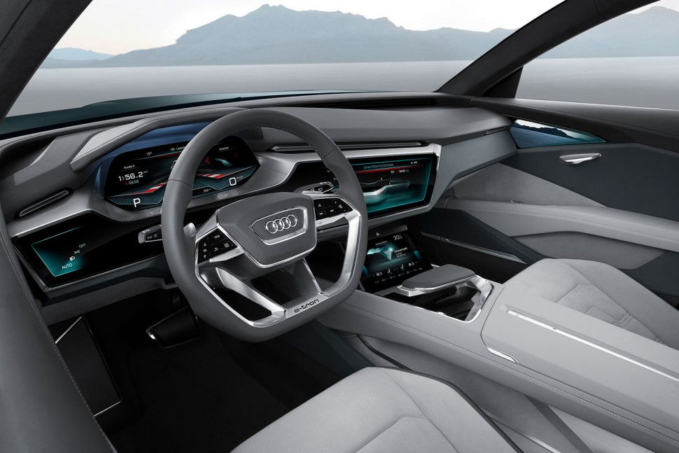 Audi Previews Future Interior Concepts At Ces Digital Trends Audi E Tron Audi Interior E Tron