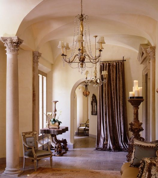 Decorating With Portieres........Drapes For Your Doorways ...