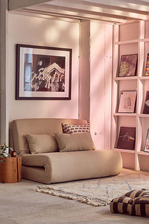 Folding Sleeper Loveseat | Sleeper loveseat, Living rooms and Playrooms