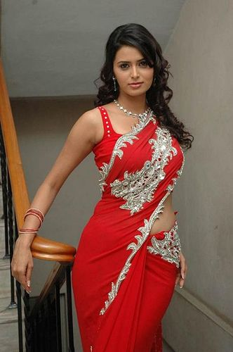 Hot Indian Woman In Red Saree India Beautiful Exotic Women Pinterest Recuerdos