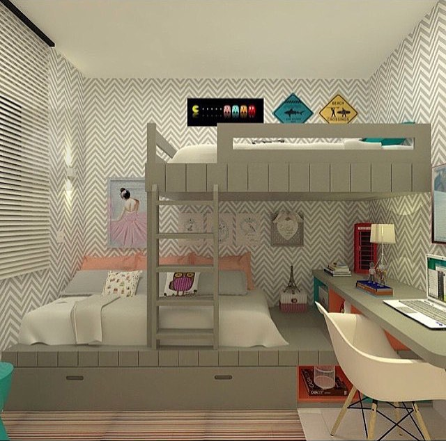 Unisex Kids Room Ideas: Habitaciones Para