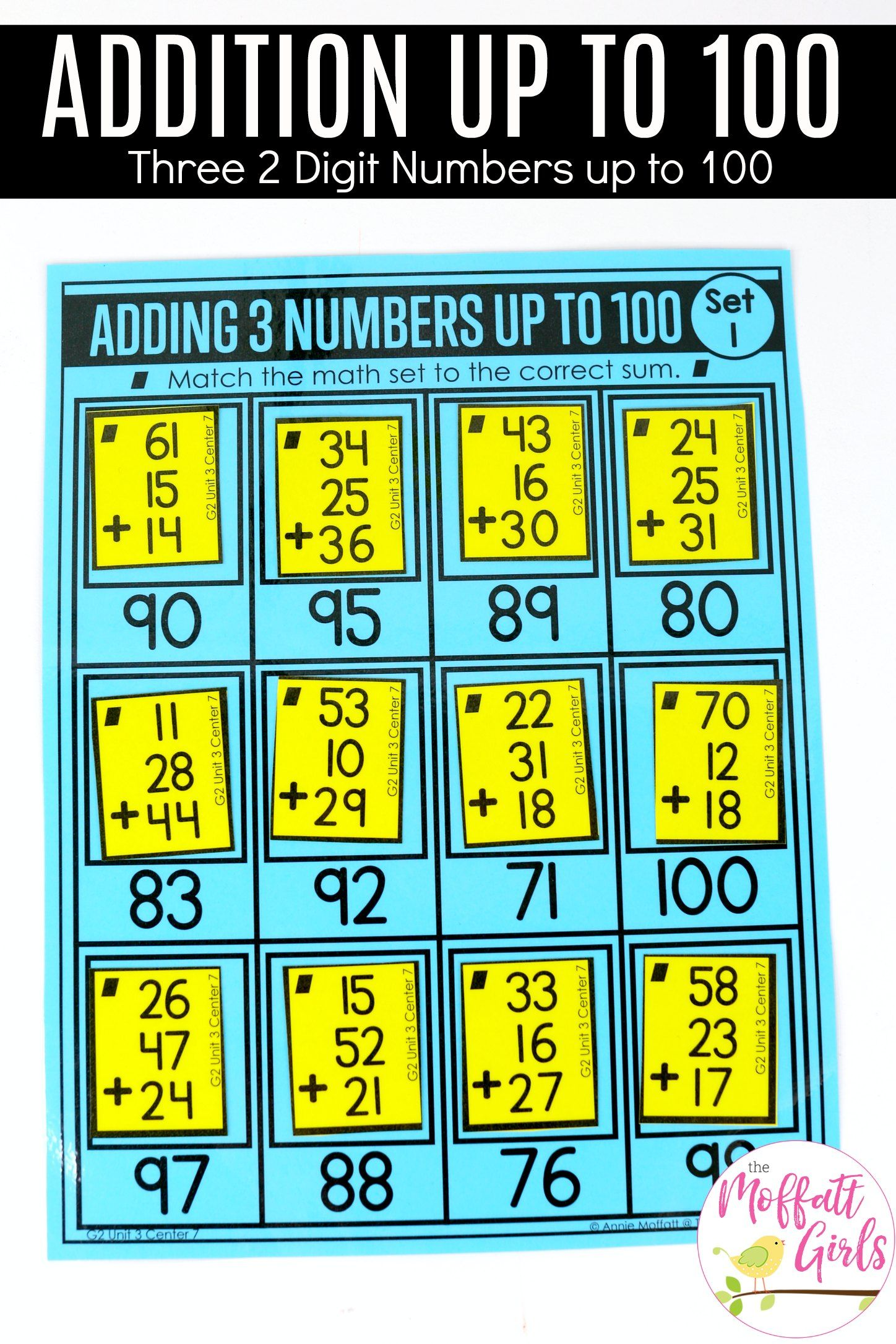 Addition And Subtraction Fluency Up To 100 For 2nd Grade Three Digit Numbers 2nd Grade Math Addition And Subtraction [ 2172 x 1448 Pixel ]