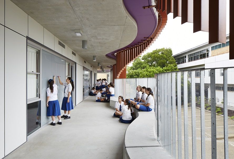 Joyful Educational Architecture Is What Itu0027s All About For ThomsonAdsett |  Architecture And Design