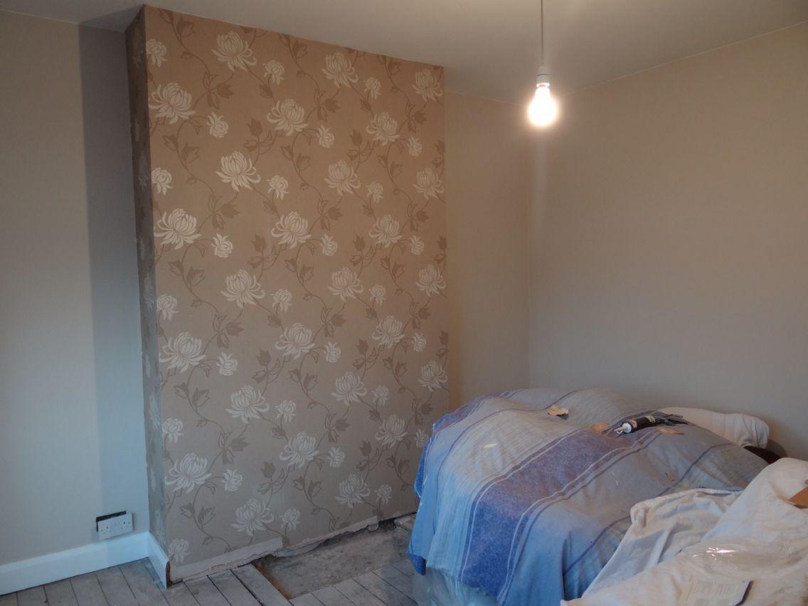 BQ Wallpaper With Natural Hessian Walls
