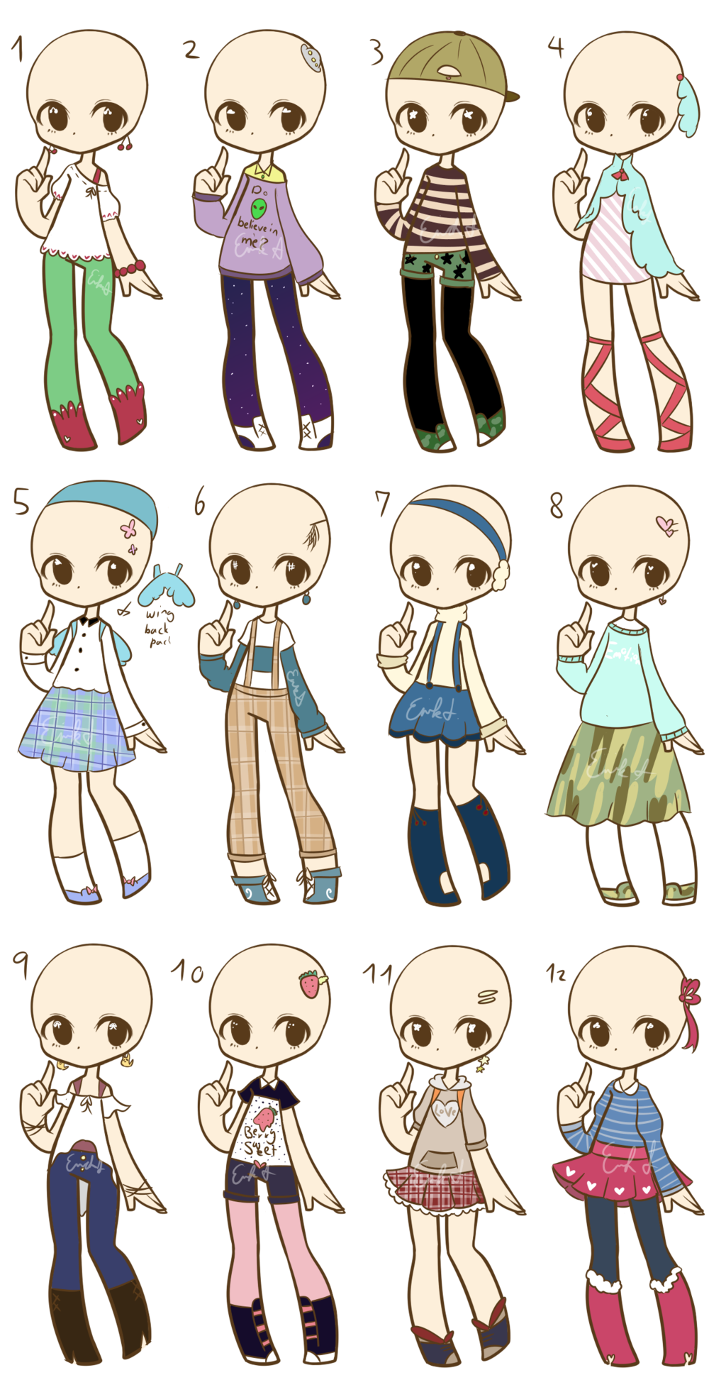 OTA Fashion Adopts :CLOSED: by LukasB-adopts.deviantart ...