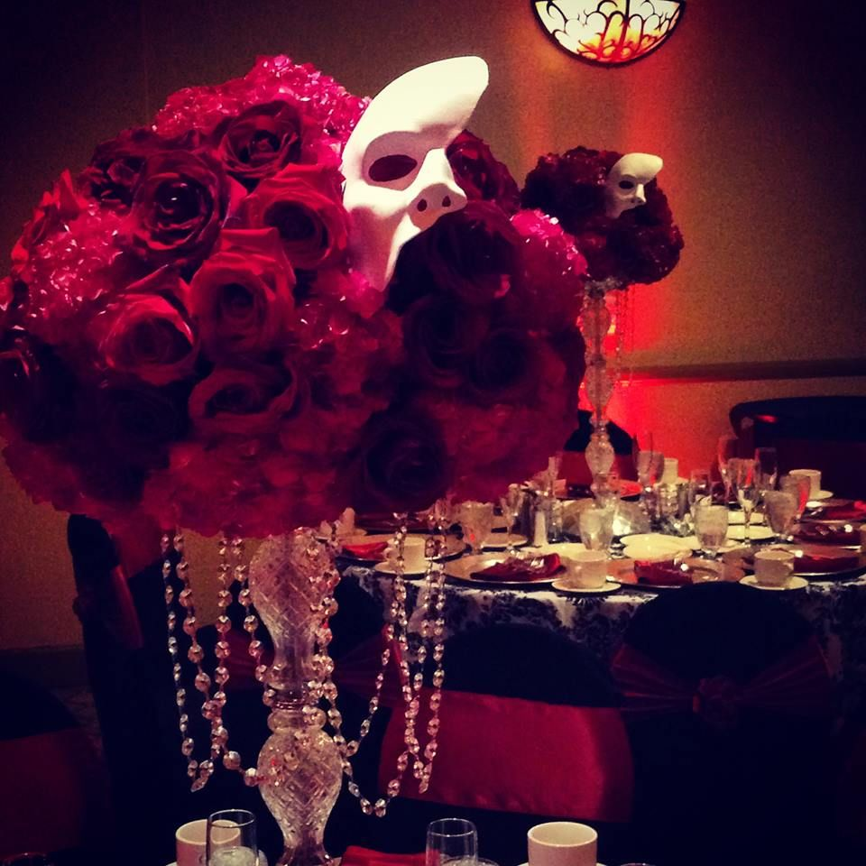 Quinceanera with a Phantom of the Opera Theme — at Doubletree by ...