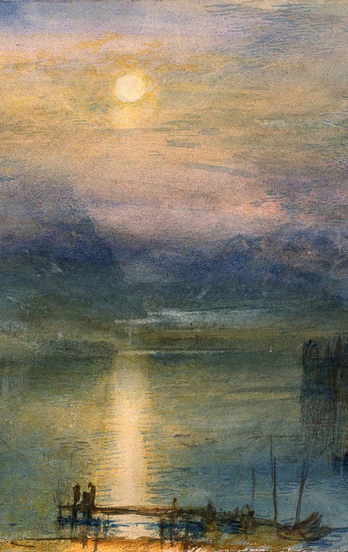 Turner Watercolor Paintings : turner, watercolor, paintings, Tweed, William, Turner,, Turner, Painting,, Landscape