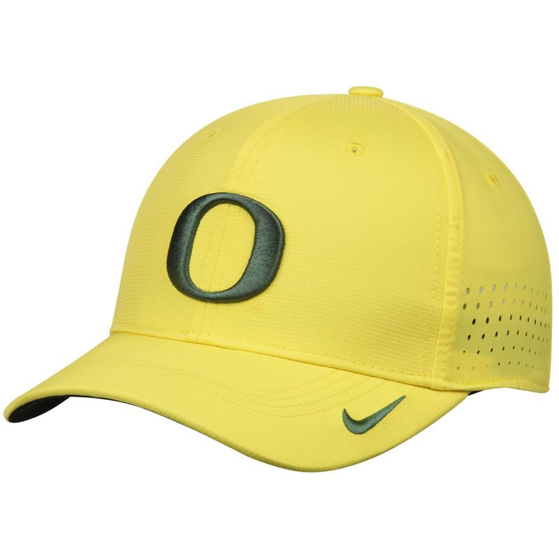 Oregon Ducks Nike Youth Sideline Swoosh Performance Flex Hat - Yellow