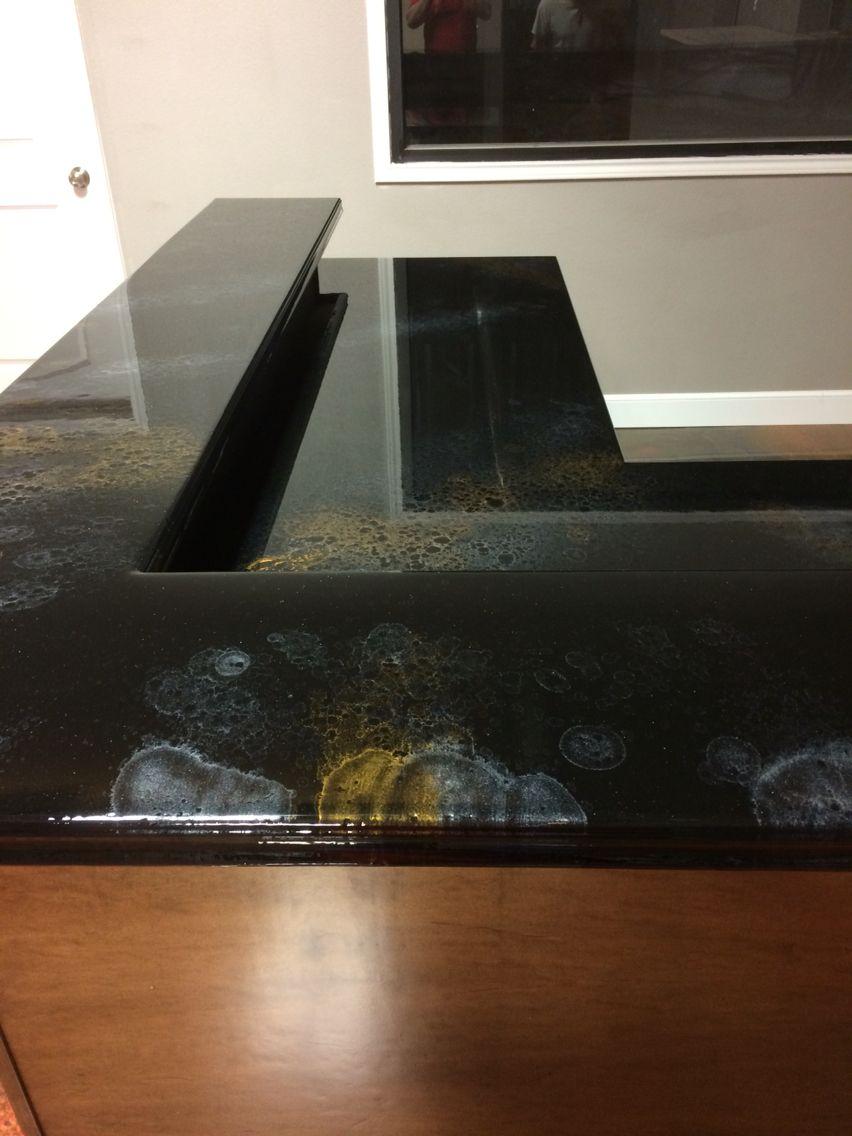 Black Gold And Silver Countertops Diamondcoatoflubbock Arte