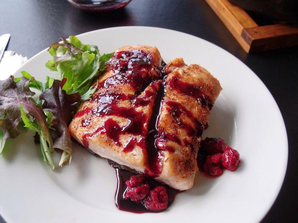 Pinot Noir Glazed Salmon Recipe Salmon Recipes Recipes Seafood Recipes
