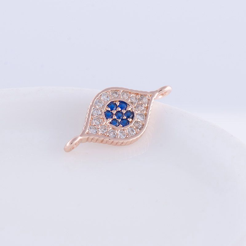 Click to Buy DIY Jewelry Supplies Micro Pave Colorful Zircon