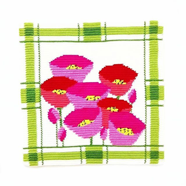 🌷Mutlu pazarlar... #crochet #crochetart #crochetaddict #ganchillo #hækle #haken #yarnlove #crochetlove #crocheted #yarnaddict #uncinetto #instacrochet #crocheting #örgü #elişi #handicraft #handmade #craftastherapy #tapestrycrochet #crochetsofinstagram