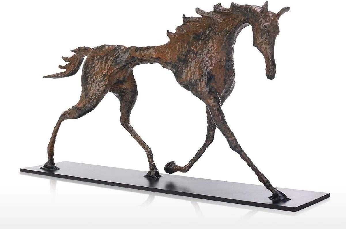 Famous Sculptor Alberto Giacometti Horse Sculpture Artwork At The Accent Horse Statue Home Decor And Horse G Horse Sculpture Horse Gifts Gifts For Horse Lovers