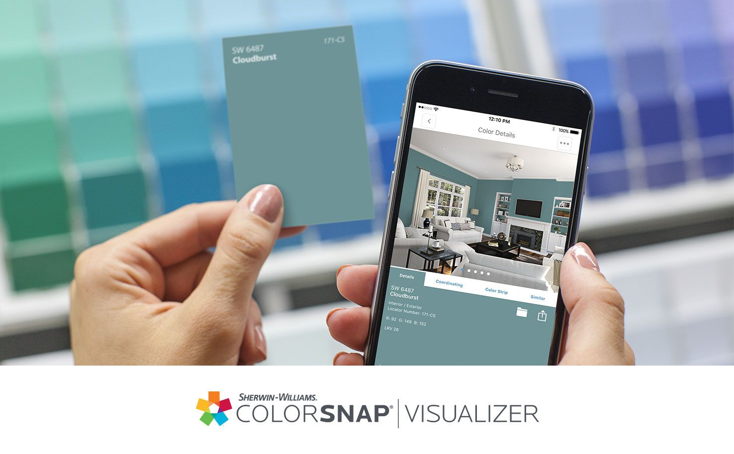 Pick paint colors app style with Sherwin-Williams. The ColorSnap® paint color matching app uses your Android or iPhone smartphone to match ... & Pick paint colors app style with Sherwin-Williams. The ColorSnap ...