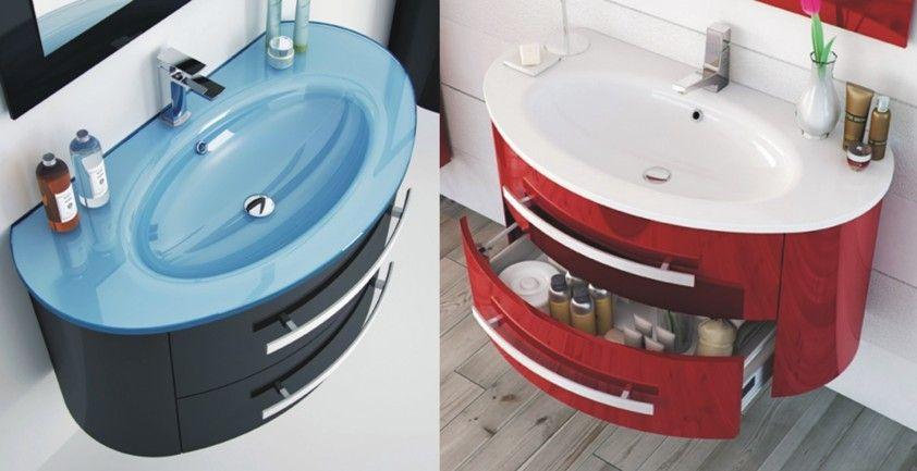 Colori Per Mobili Da Bagno : Mobile da bagno marion 100 cm in 25 colori moderno sospeso in 2019