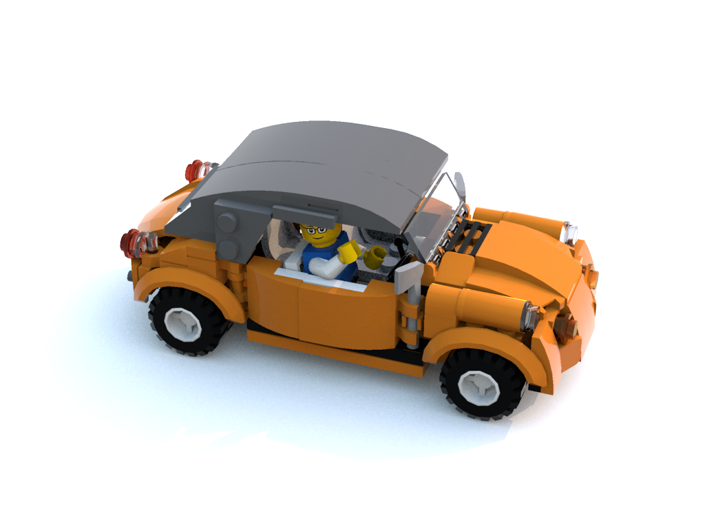 Shape Is Getting There Vw Beetle Cabriolet Roof Up Moc