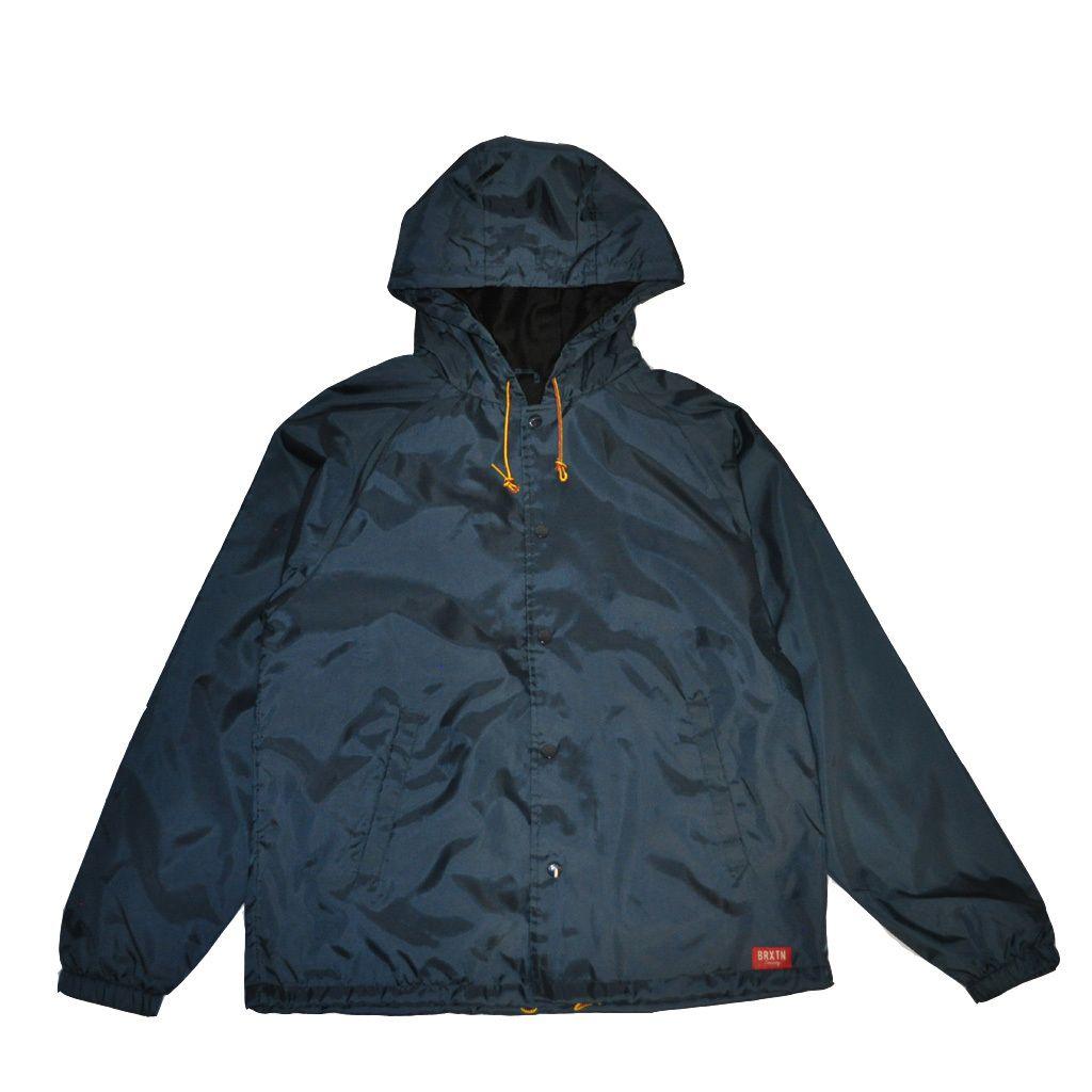 The Giant Peach - Brixton - Hoover Men's Jacket, Indigo, $59.00 (http://www.thegiantpeach.com/brixton-hoover-mens-jacket-indigo/)