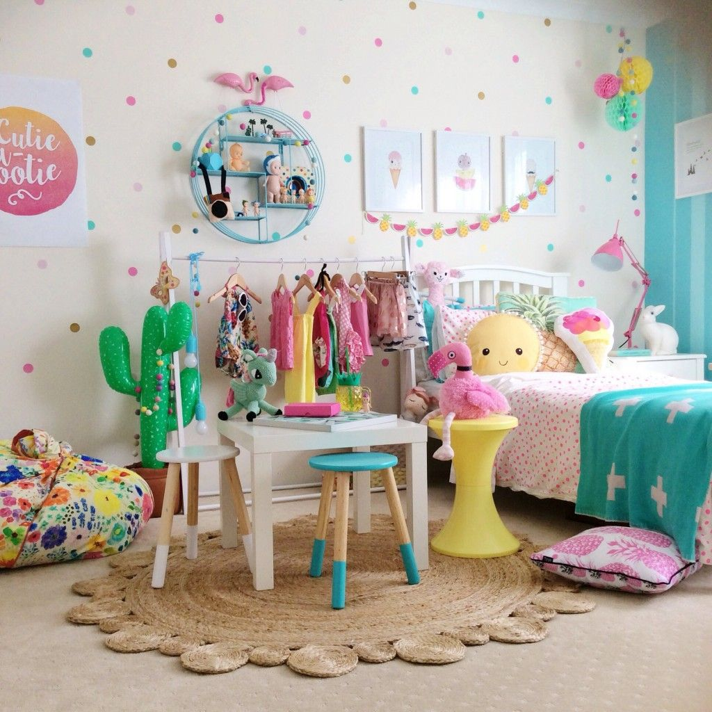 Use colour to lift the mood and add an element of fun to a child's space.