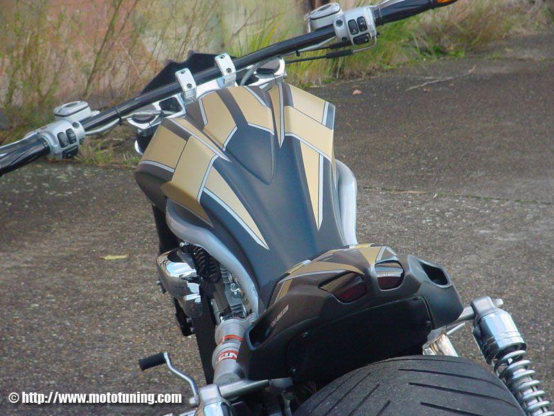 Guidon V-Rod Tecno Bike