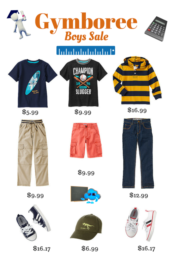 #Sale - #Gymboree - $16.99 And Under - Limited Time – Don't miss this, I bought clothes here too! #BackToSchool Mom 'N Daughter Savings