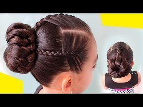Peinados Para Nina S Mariposa S 4 Faciles Para Cabello Largo
