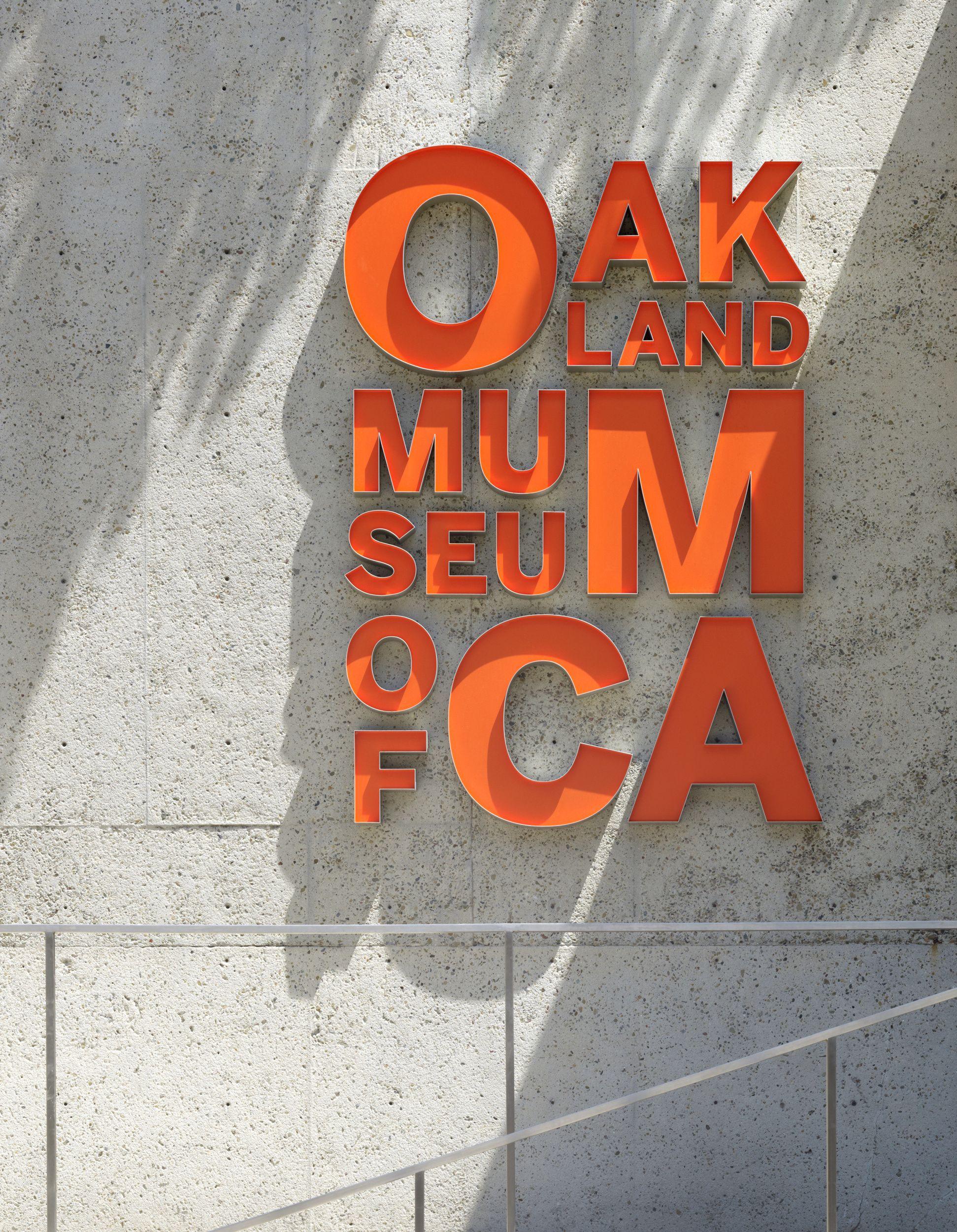 Oakland Museum Of California 3d Label Cardstock