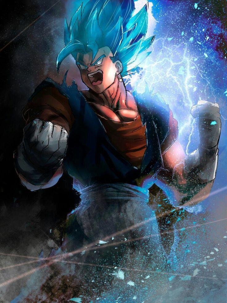 Vegito Blue Anime dragon ball super, Dragon ball super