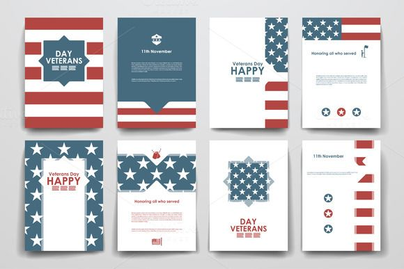 Veterans Day Brochure Templates  Brochure Template Brochures
