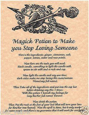 Magic Potion to Make You Stop Loving Someone