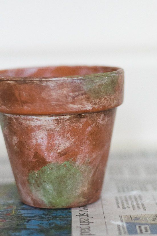 Diy Mossy And Aged Terra Cotta Pots Aging Terra Cotta Pots Terracotta Pots Diy Terra Cotta Pots