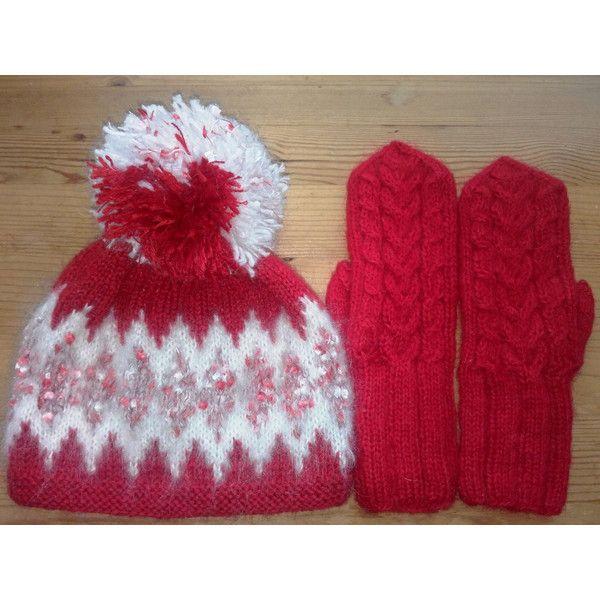 Fair Isle Wool Hat Set, womens gift, Womens winter Accessories ...
