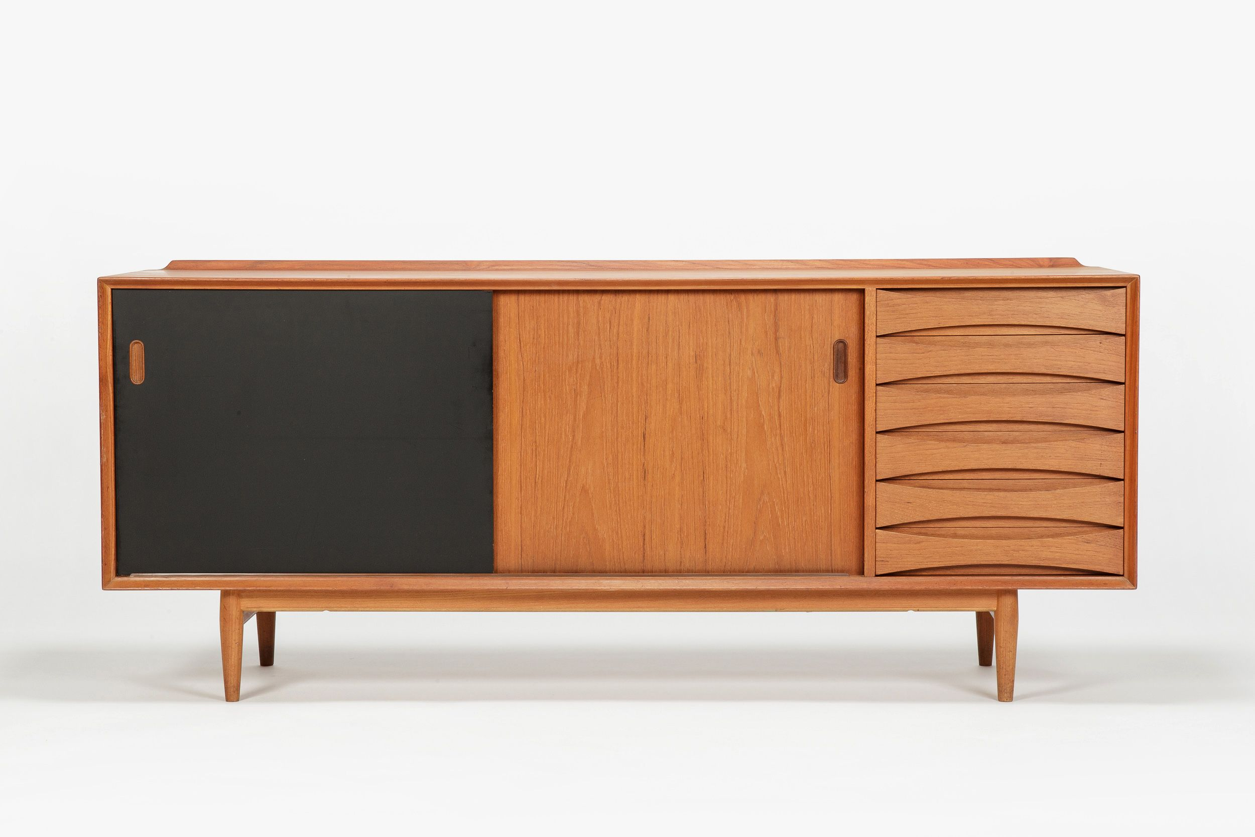 Arne Vodder Sideboard Triennale Os 29 Teak Mid Century Modern