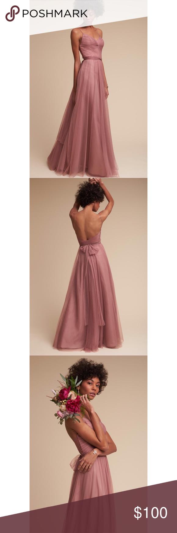 284a9226eca91 NEW w/ FLAW Anthropologie BHLDN Tinsley Dress New with flaw Anthropologie  BHLDN Tinsley bridesmaids dress