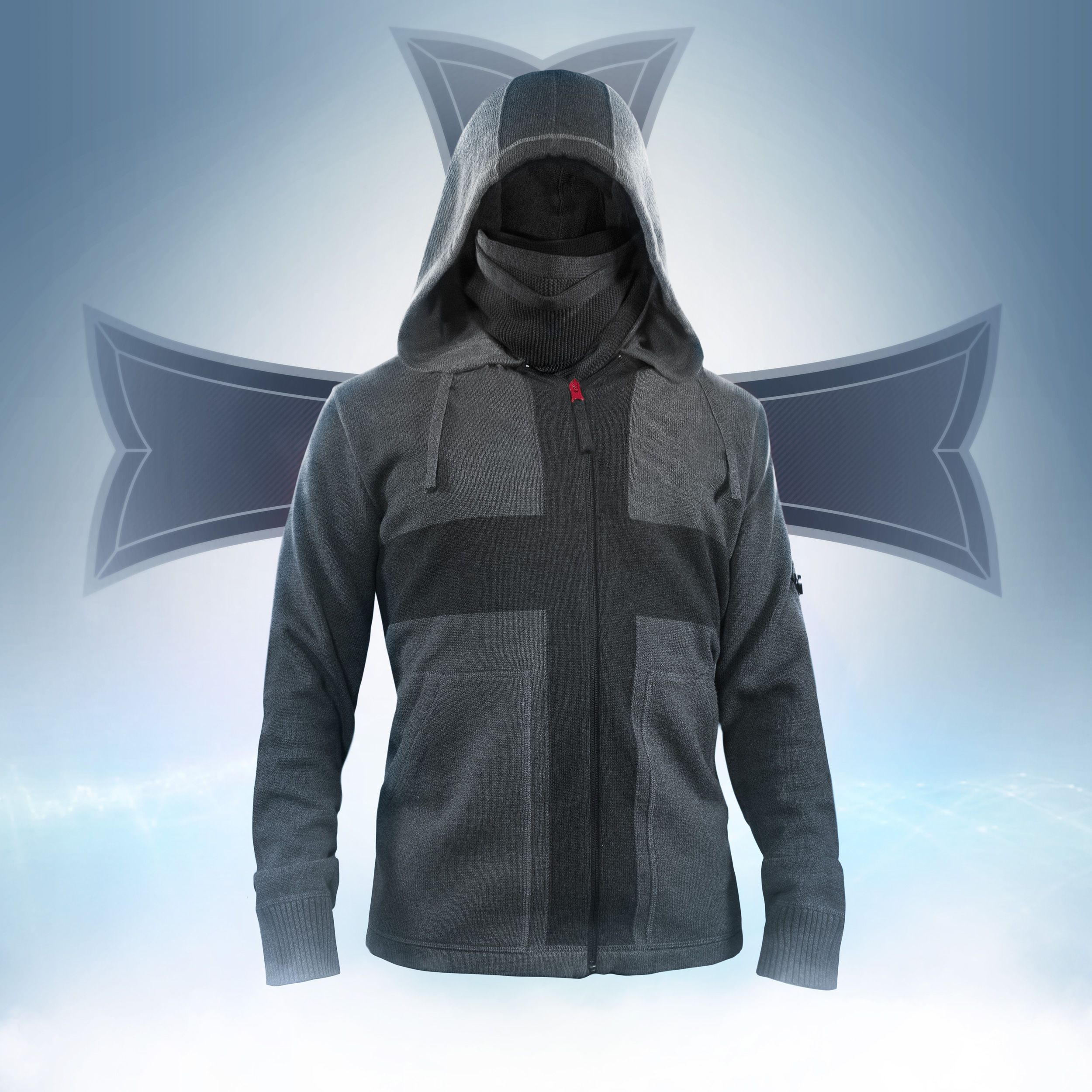 the assassin 39 s creed rogue themed crusade hoodie and. Black Bedroom Furniture Sets. Home Design Ideas